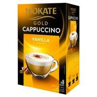 Mokate Gold Cappuccino Vanilla 8 Sachets