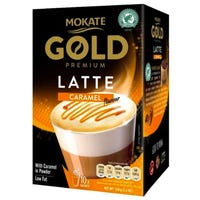 Mokate Gold Premium Caramel Latte 10 Pack