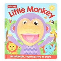Hand Puppet Little Monkey Book
