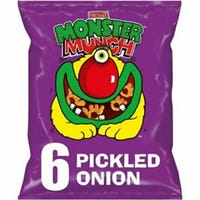 Walkers Monster Munch Pickled Onion 6 Pack