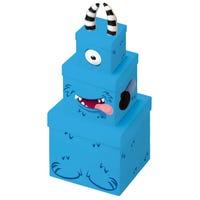 Monster Plush Nesting Gift Boxes 3 Pack