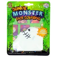 Heebie Jeebies Junior Monster Face Covering in Skeleton