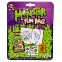 Monster Fun Bag Trick Or Treat Toy