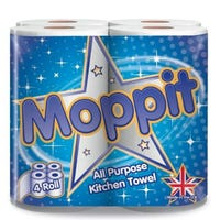 Moppit All Purpose Kitchen Towel 4 Pack
