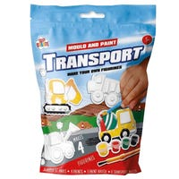 Make Your Own Transport Figurines 4 Designs