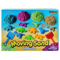 Magical Moving Sand with Dinosaur Set
