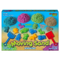 Magical Moving Sand with Animal Set