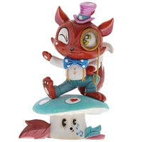 The World Of Miss Mindy Mr Fox Figurine