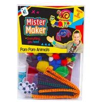 Mister Maker Pom Pom Animals Kit