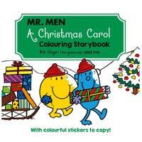 Mr Men A Christmas Carol Colouring Storybook