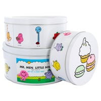 Mr Men Cake Tins 3 Pack