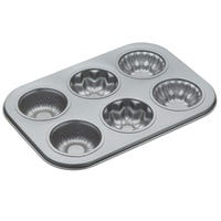 Flower Muffin Pan 6 Cup