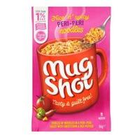 Mug Shot Noodles Peri Peri Flavour 56g