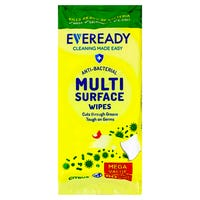 Eveready Anti-Bacterial Multi Surface Wipes in Citrus 80 Pack
