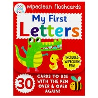 My First Letters Wipeclean Flashcards