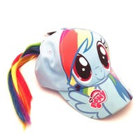 My Little Pony Baseball Cap with Hair