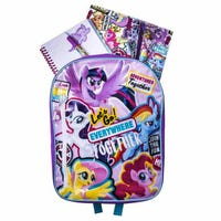 My Little Pony Movie Backpack Stationery Set