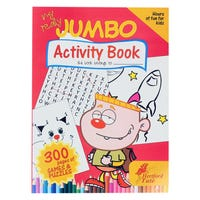 My Really Jumbo Activity Book 300 Pages