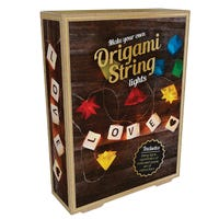 Make Your Own Origami String Lights 10 Lights