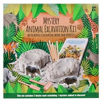 Mystery Animal Colour and Dig Excavation Kit