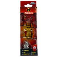 Nano Metalfigs Incredibles 5 Pack