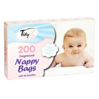* Nappy Bags 200 Pack