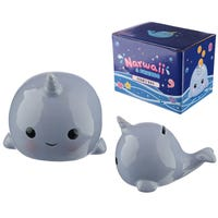 Narwaii and Friends Narwhal Ceramic Money Box