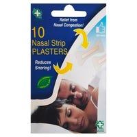 A&E Nasal Strip Plasters 10 Pack