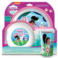 Nella The Princess Knight 3 Piece Dinner Set