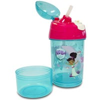 Nella The Princess Knight Sip N Snack Bottle