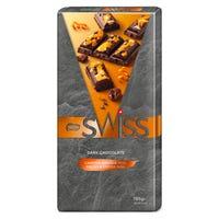 Nestle Swiss Dark Chocolate with Candied Orange Peel Chocolate Bar 170g