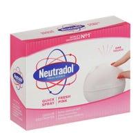 Neutradol Quick Spray Fresh Pink Air Freshener 50ml