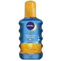 Nivea Invisible Spray Protect and Refresh SPF10 200ml