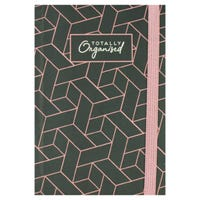 A6 Printed Notebook in Totally Organised Print