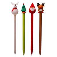 Festive Friends Christmas Pen Assorted