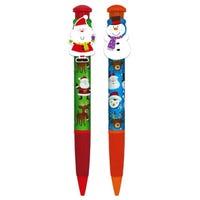 Christmas Giant Novelty Pens Assorted