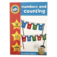 Key Stage Sticker Work Books Numbers & Counting
