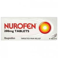 Nurofen Tablets Ibuprofen 200mg 8 Tablets