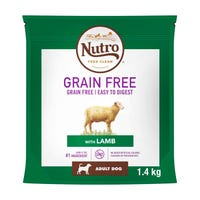 Nutro Wild Frontier Adult Dog Dry Food - Lamb 1.4kg