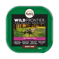 Nutro Wild Frontier Adult Dog Food Chicken and Turkey 300g