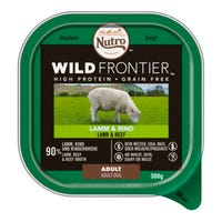 Nutro Wild Frontier Adult Dog Food Lamb and Beef 300g