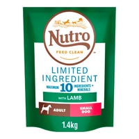 Nutro Wild Frontier Adult Small Dog Dry Food - Lamb 1.4kg