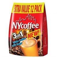* NY Coffee 3 in 1 Mix 12 Sachets