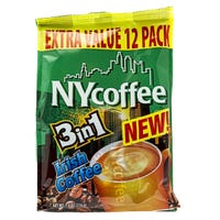 NY Coffee 3 in 1 Irish Coffee 12 Pack