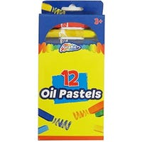 Grafix Oil Pastels 12 Pack