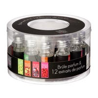 Oil Burner and Fragrances Set