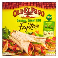 Old El Paso Original Smoky BBQ Fajita Kit 500g