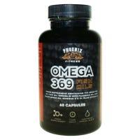 Phoenix Fitness Omega 369 Fish Oil 60 Capsules