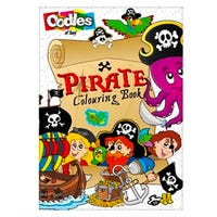 Oodles Pirate Colouring Book