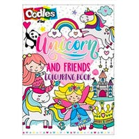Oodles Unicorns and Friends Colouring Book